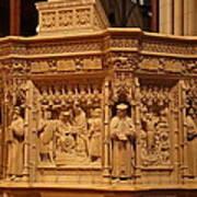 Washington National Cathedral - Washington Dc - 011333 Print by DC Photographer