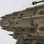 Washington National Cathedral - Washington Dc - 011367 Print by DC Photographer