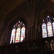 Washington National Cathedral - Washington Dc - 011399 Print by DC Photographer