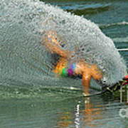 Water Skiing 5 Magic Of Water Print by Bob Christopher