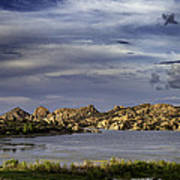 Watson Lake Print by James Bethanis