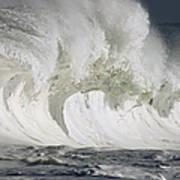 Wave Whitewash Print by Vince Cavataio