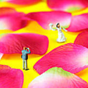 Wedding Photography Little People Big Worlds Print by Paul Ge