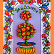 Welcome Print by Amy Vangsgard