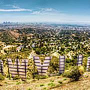 Welcome To Hollywood Print by Natasha Bishop