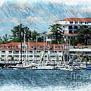 Wentworth By The Sea Print by Marcia Lee Jones