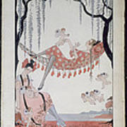 What Do Young Women Dream Of? Print by Georges Barbier
