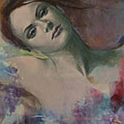 When A Dream Has Colored Wings Print by Dorina  Costras