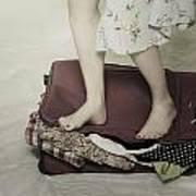 When A Woman Travels Print by Joana Kruse