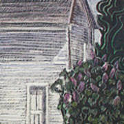 When Lilacs Last... Print by Grace Keown