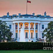 White House Print by Inge Johnsson