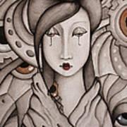 Who Am I Print by Simona  Mereu