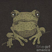 Who You Lookin' At ? Print by Suzette Broad