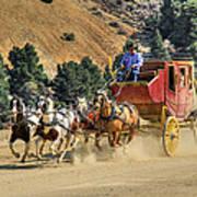Wild West Ride 2 Print by Donna Kennedy