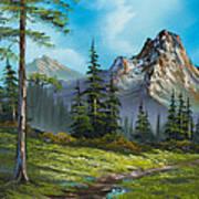 Wilderness Trail Print by C Steele