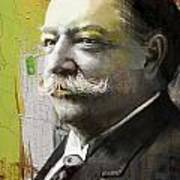 William Howard Taft Print by Corporate Art Task Force