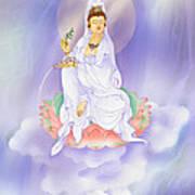 Willow Kuan Yin Print by Lanjee Chee