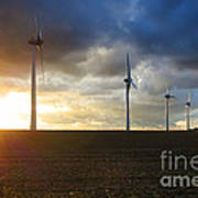 Wind And Sun Print by Olivier Le Queinec
