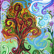 Winding Tree Print by Genevieve Esson