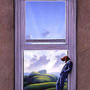 Window Of Dreams Print by Jerry LoFaro