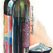 Window On A Bottle Print by Alessandra Andrisani