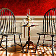 Windsor Chairs Print by Olivier Le Queinec