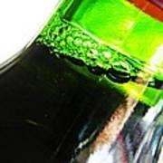 Wine Bottle Print by Sarah Loft