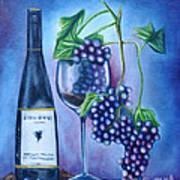 Wine Dance Print by Ruben Archuleta - Art Gallery