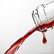 Wine Pour Print by Frank Tschakert