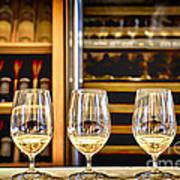 Wine Tasting  Print by Elena Elisseeva