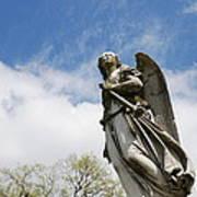 Winged Angel Print by Jennifer Ancker