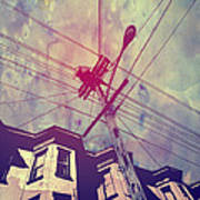 Wires Print by Giuseppe Cristiano