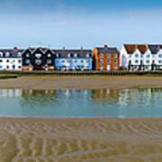 Wivenhoe Waterfront Print by Gary Eason