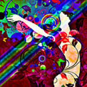 Wondrous At The End Of The Rainbow Print by Angelina Vick