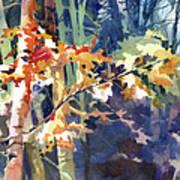 Wood Song Print by Kris Parins