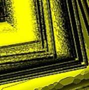 Yellow Over Yellow Art Print by Mario Perez