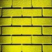 Yellow Wall Print by Semmick Photo