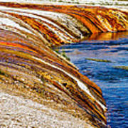 Yellowstone Earthtones Print by Bill Gallagher