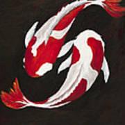Yin And Yang Print by Darice Machel McGuire
