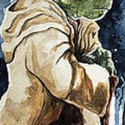 Yoda Print by David Kraig