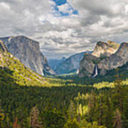 Yosemite Valley Print by Sarit Sotangkur