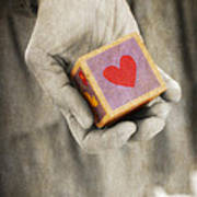 You Hold My Heart In Your Hand Print by Edward Fielding