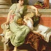 Pompeii Print by Alfred W Elmore