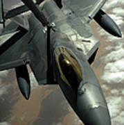 A U.s. Air Force F-22 Raptor Print by Stocktrek Images
