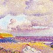 An Incoming Storm Print by Henri-Edmond Cross