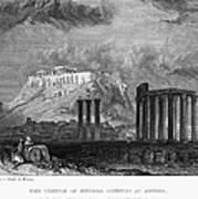 Athens: Olympian Zeus Print by Granger