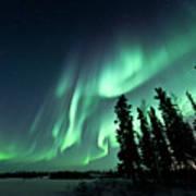 Aurora Borealis Print by Michael Ericsson