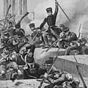 Battle Of Chapultepec, 1847 Print by Granger