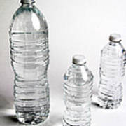 Bottled Water Print by Photo Researchers