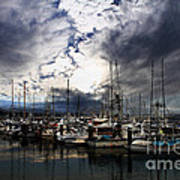 Calm Before The Storm Print by Wingsdomain Art and Photography